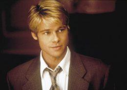 Brad Pitt wearing a tie in Meet Joe Black