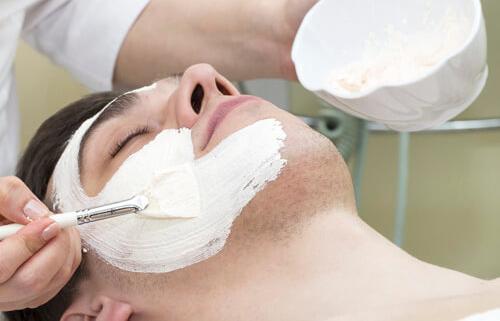 Men's skincare treatments